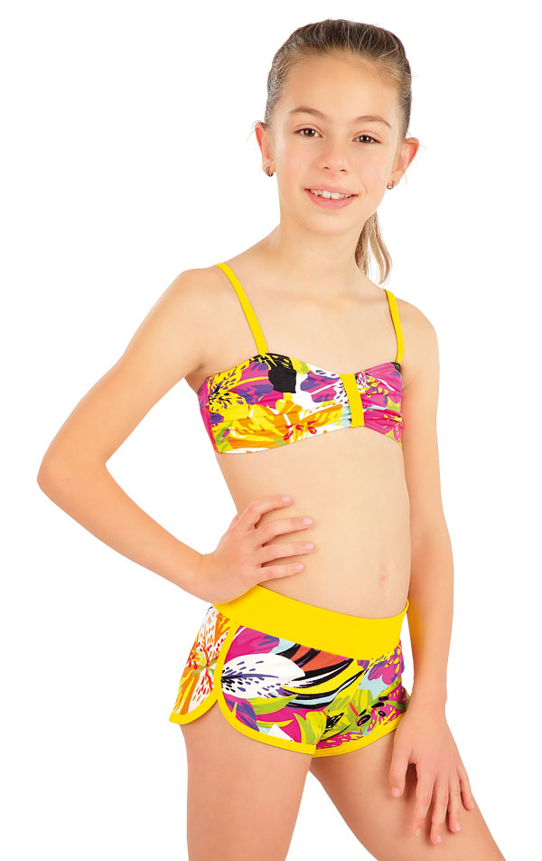 Dívčí plavky kraťasy. 57551 | Dívčí plavky LITEX