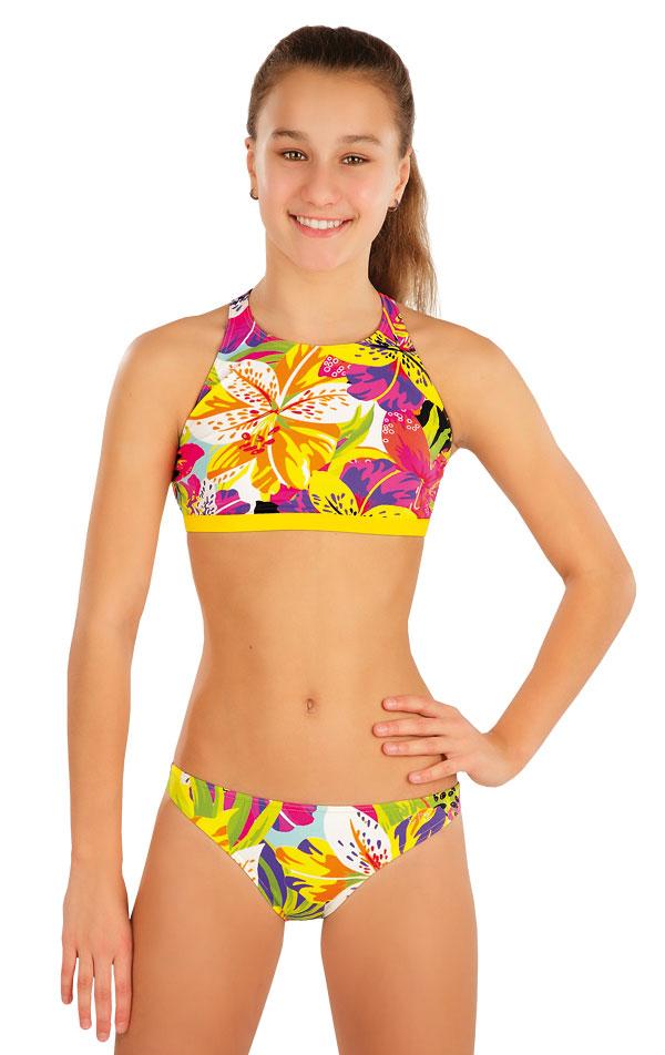 Dívčí plavky kalhotky bokové. 57553 | Dívčí plavky LITEX