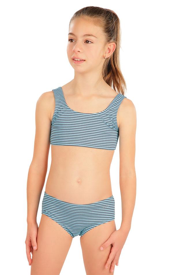 Dívčí plavky kalhotky bokové. 57557 | Dívčí plavky LITEX