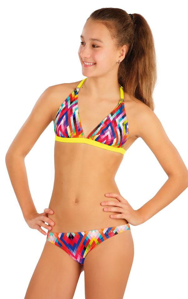 Dívčí plavky podrsenka. 57567 | Dívčí plavky LITEX