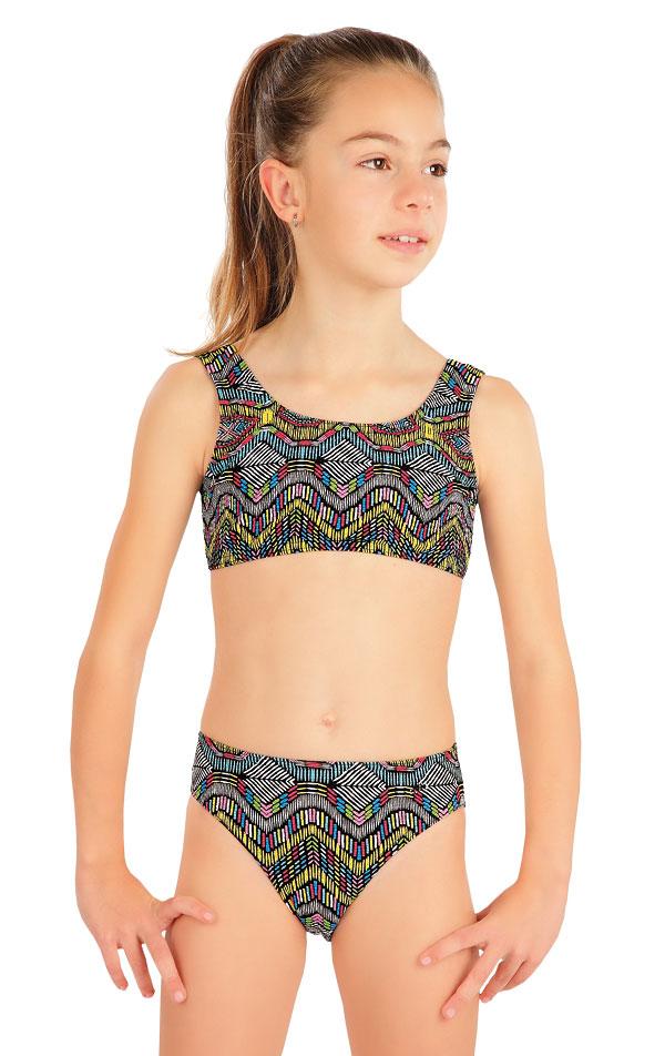 Dívčí plavky kalhotky středně vysoké. 57576 | Dívčí plavky LITEX