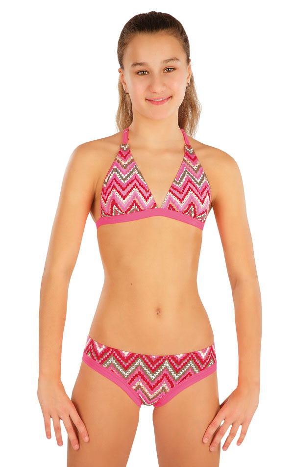 Dívčí plavky kalhotky bokové. 57581 | Dívčí plavky LITEX