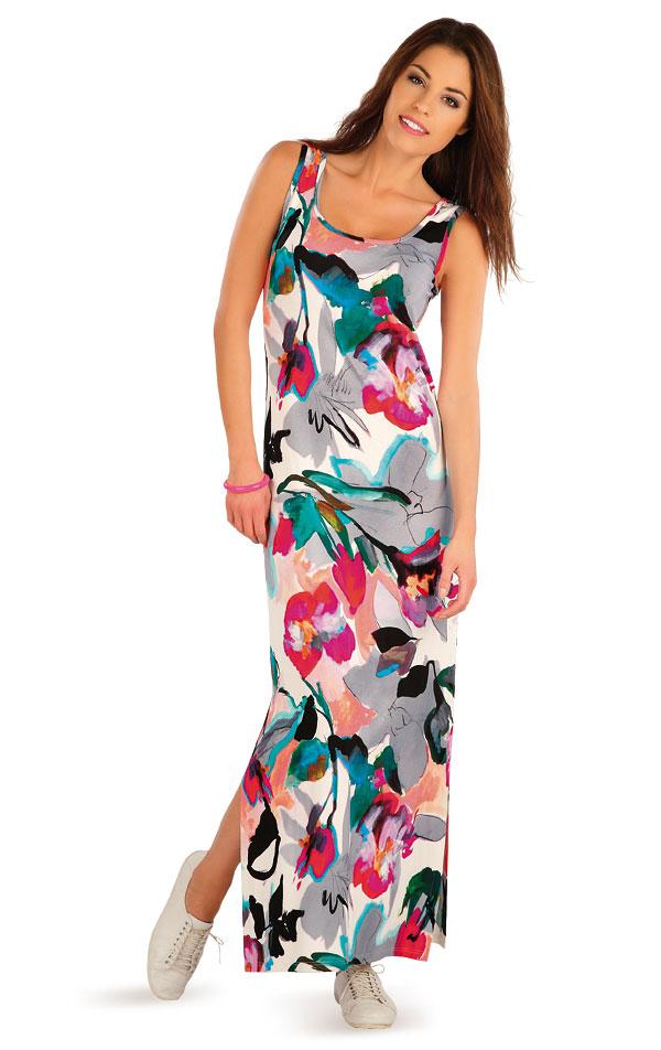 Šaty dámské dlouhé bez rukávu. 58020 | Sportovní oblečení LITEX