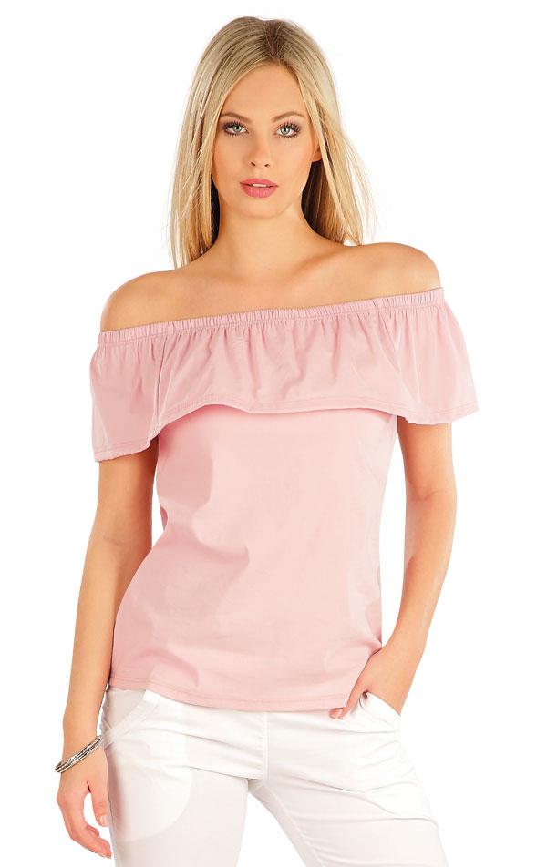 Tričko dámské s volánem. 58035 | Sportovní oblečení LITEX