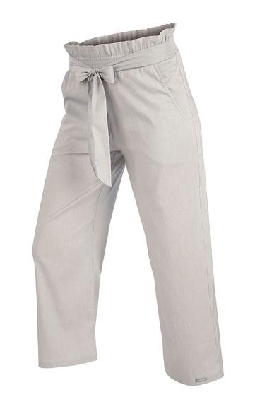 Kalhoty dámské do pasu v 7/8 délce.