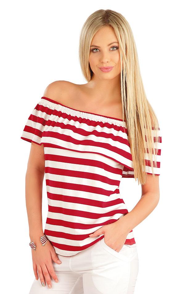 Tričko dámské s volánem. 58052 | Sportovní oblečení LITEX