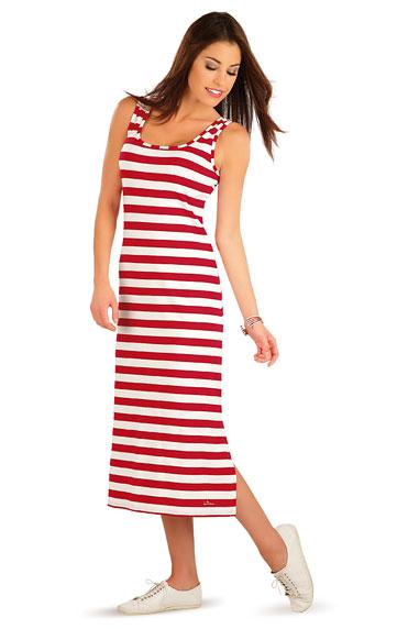 Šaty dámské dlouhé bez rukávu.