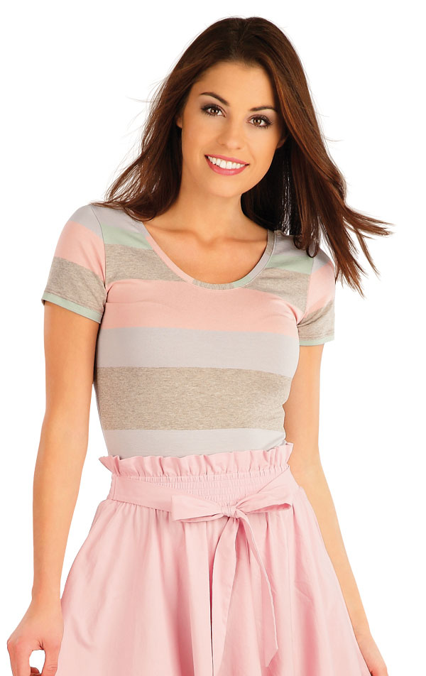 Tričko dámské s krátkým rukávem. 58057 | Trika, topy, tílka LITEX