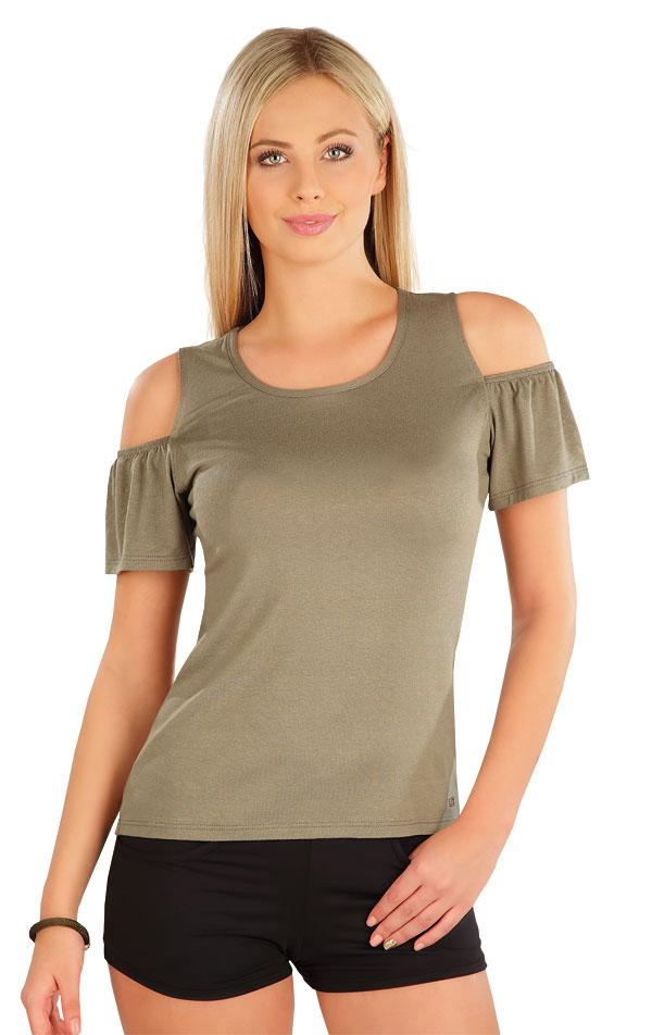 Tričko dámské s krátkým rukávem. 58076 | Sportovní oblečení LITEX