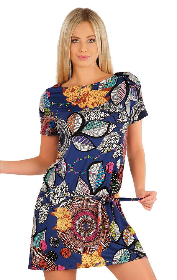 Šaty dámské s krátkým rukávem. 58083 | Šaty a sukně LITEX