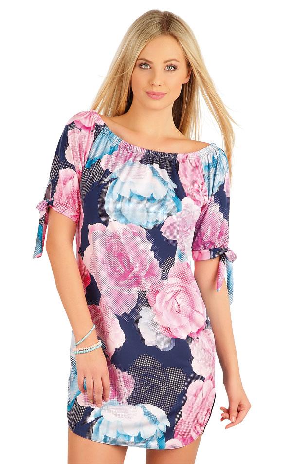 Šaty dámské s krátkým rukávem. 58091 | Šaty a sukně LITEX