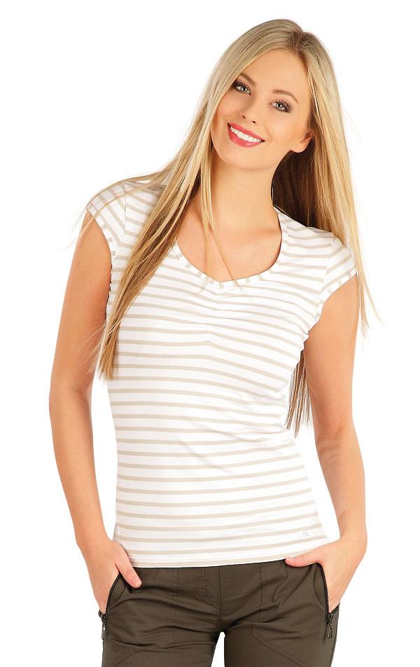 Tričko dámské s krátkým rukávem. 58135 | Sportovní oblečení LITEX