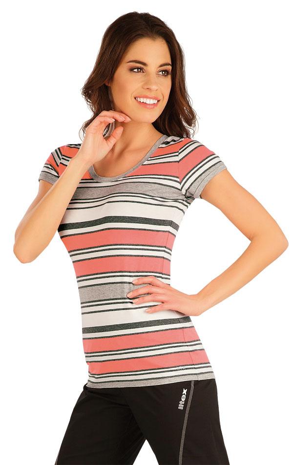 Tričko dámské s krátkým rukávem. 5A008 | Tílka, trička, halenky LITEX