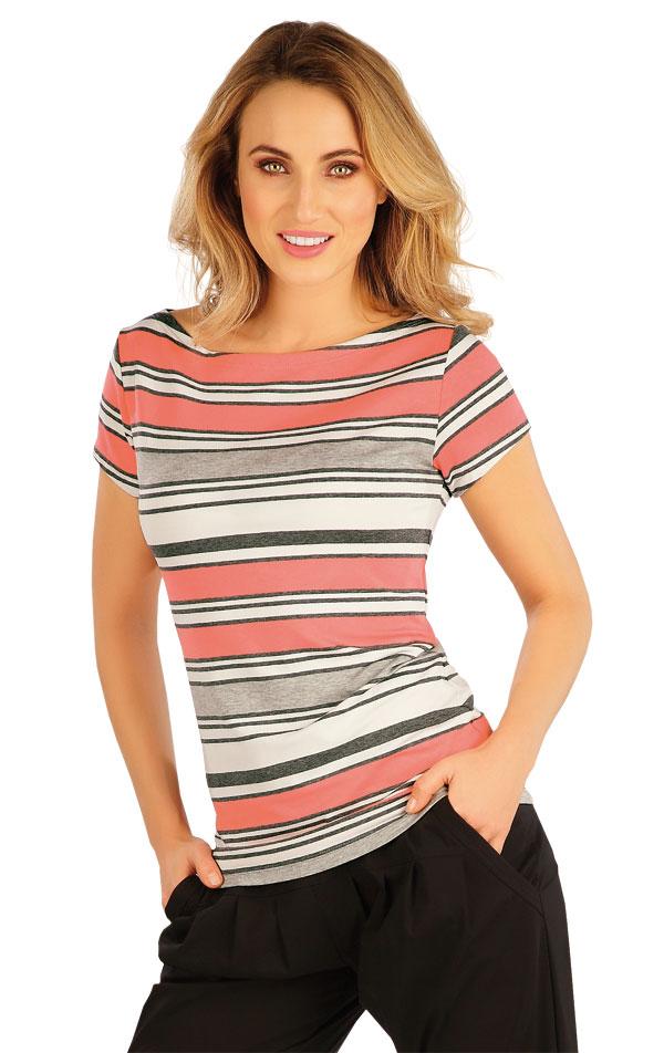 Tričko dámské s krátkým rukávem. 5A009 | Tílka, trička, halenky LITEX