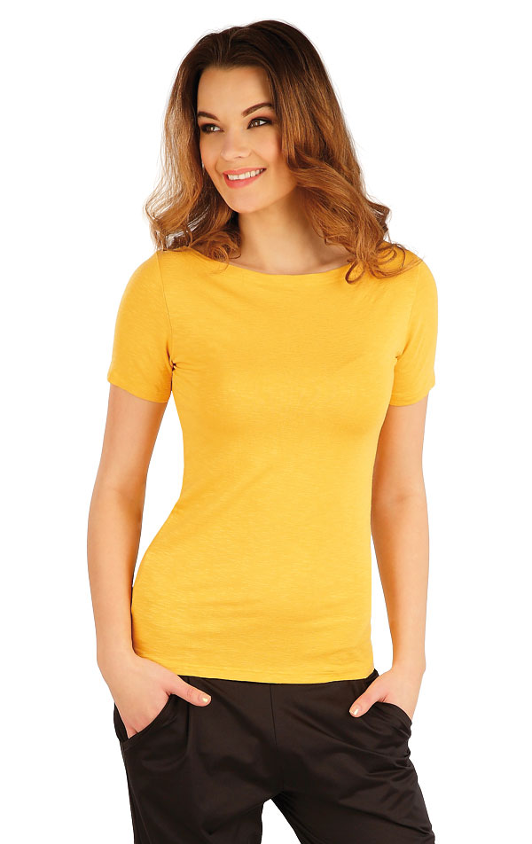 Tričko dámské s krátkým rukávem. 5A015   Tílka, trička, halenky LITEX