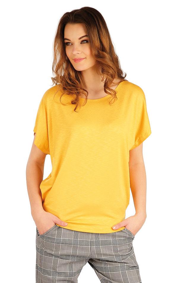 Tričko dámské s krátkým rukávem. 5A016 | Tílka, trička, halenky LITEX