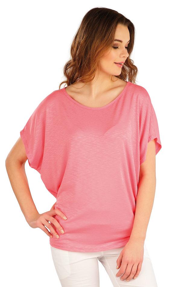 Tričko dámské s krátkým rukávem. 5A022   Tílka, trička, halenky LITEX