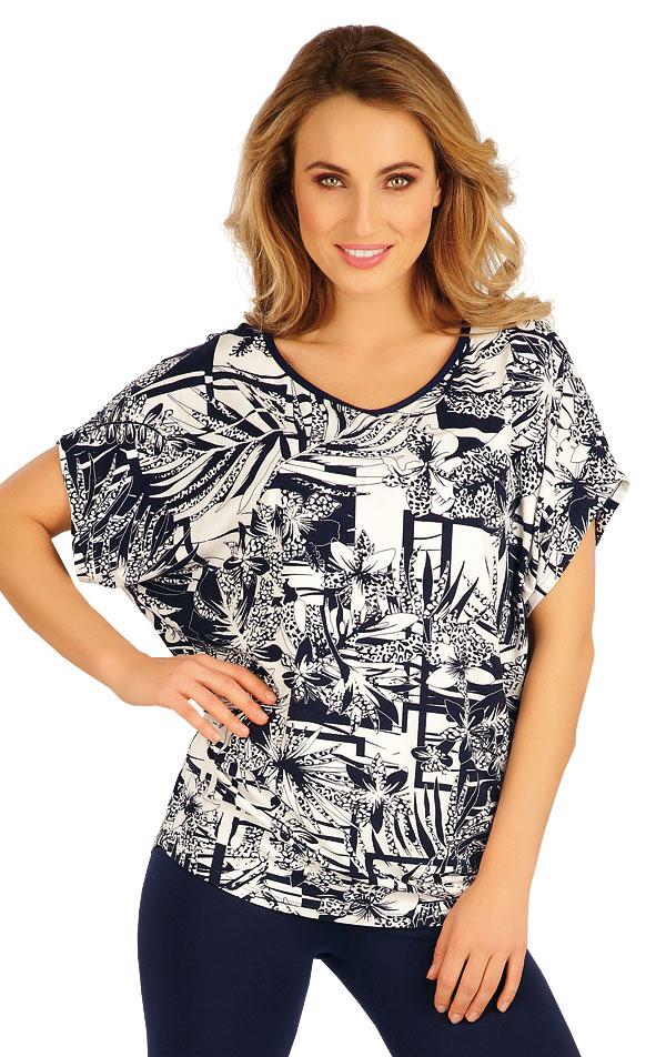 Tričko dámské s krátkým rukávem. 5A025   Tílka, trička, halenky LITEX