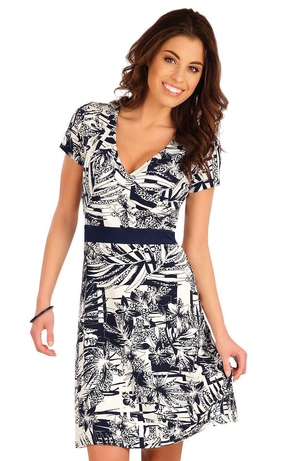 Šaty dámské s krátkým rukávem. 5A027 | Šaty, sukně, tuniky LITEX