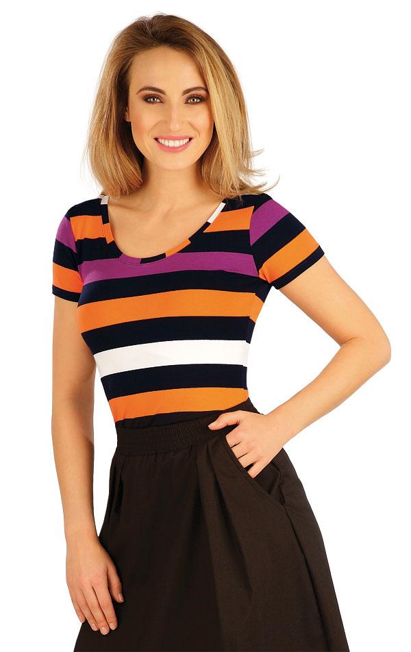 Tričko dámské s krátkým rukávem. 5A033 | Tílka, trička, halenky LITEX