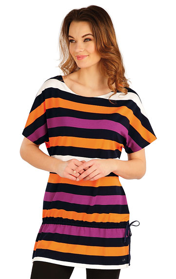 Šaty, sukně, tuniky > Tunika se spadlým rukávem. 5A034