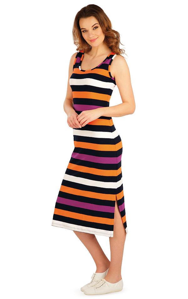 Šaty dámské dlouhé bez rukávu. 5A035 | Dámské oblečení LITEX