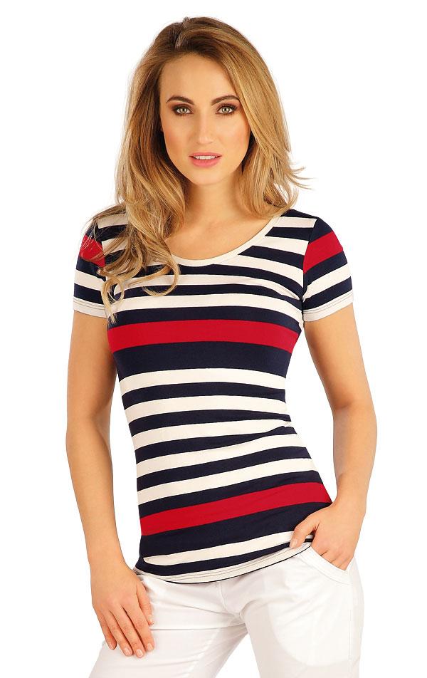 Tričko dámské s krátkým rukávem. 5A039 | Tílka, trička, halenky LITEX