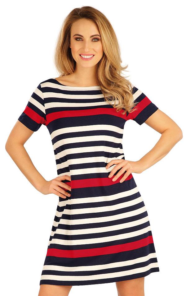 Šaty dámské s krátkým rukávem. 5A042   Šaty, sukně, tuniky LITEX