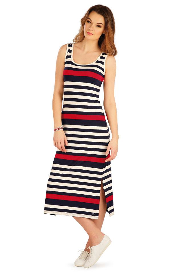 Šaty dámské dlouhé bez rukávu. 5A043 | Dámské oblečení LITEX