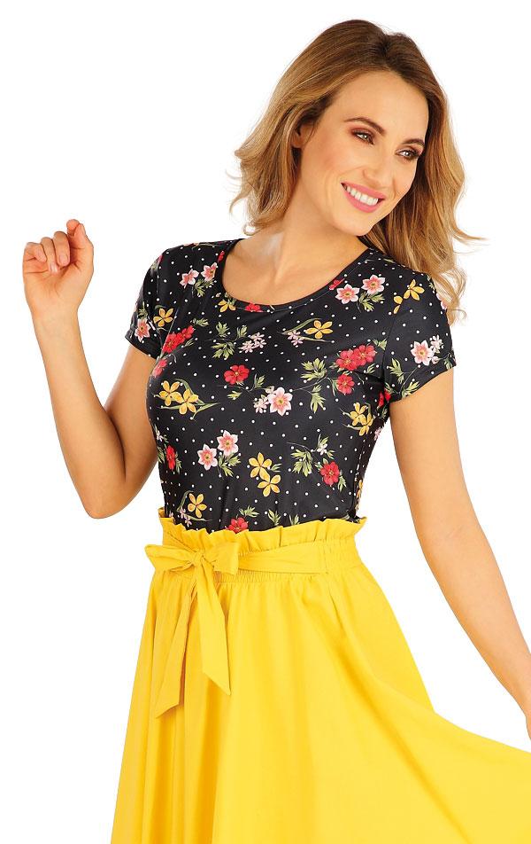 Tričko dámské s krátkým rukávem. 5A052 | Tílka, trička, halenky LITEX