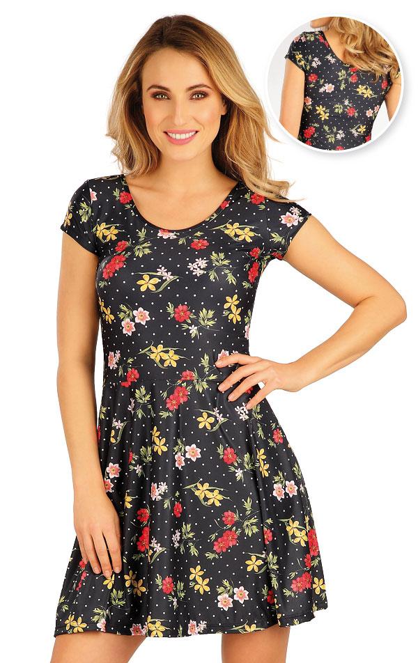 Šaty dámské s krátkým rukávem. 5A056 | Šaty, sukně, tuniky LITEX