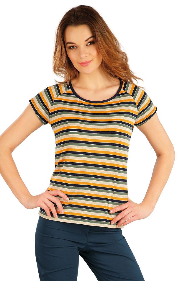 Tričko dámské s krátkým rukávem. 5A062 | Tílka, trička, halenky LITEX