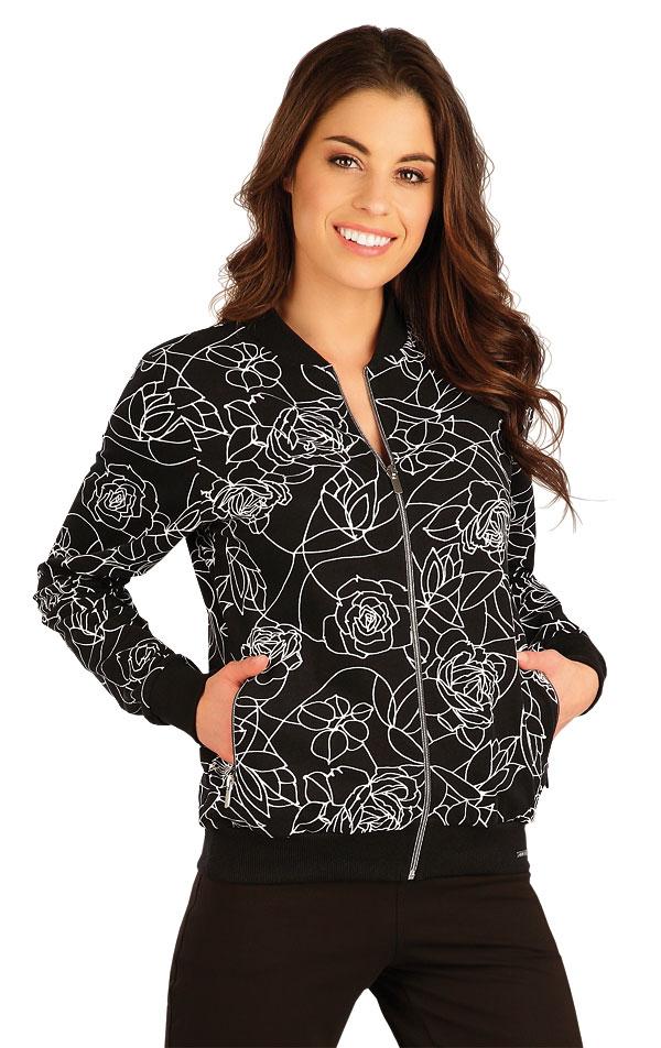 Mikina dámská na zip. 5A108 | Bundy, vesty, kabátky LITEX