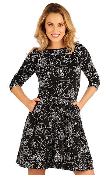 Šaty, sukně, tuniky > Šaty dámské s 3/4 rukávem. 5A113