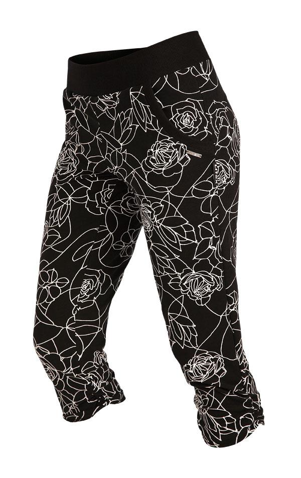Kalhoty dámské bokové v 3/4 délce. 5A114 | Legíny, kalhoty, kraťasy LITEX