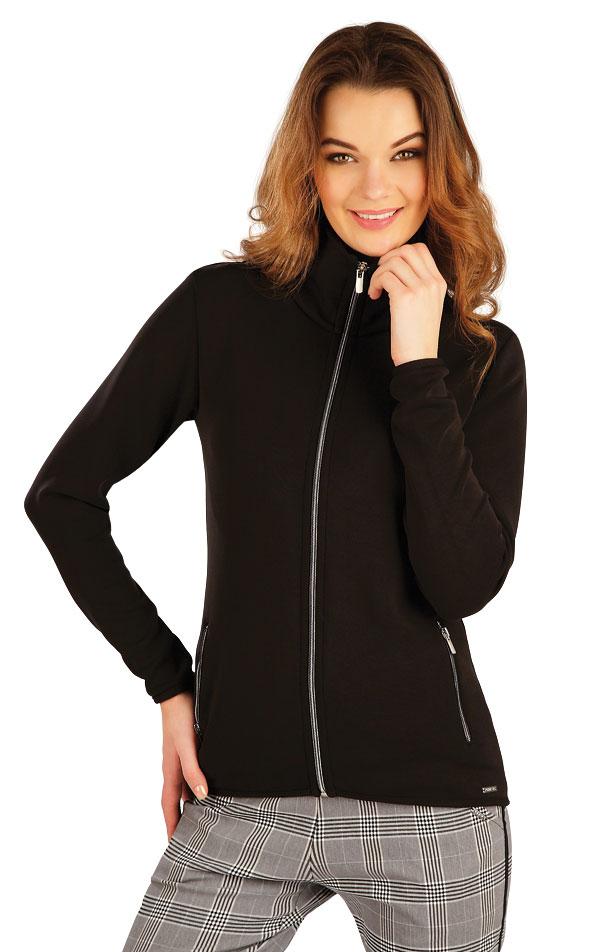 Mikina dámská na zip. 5A127 | Bundy, vesty, kabátky LITEX
