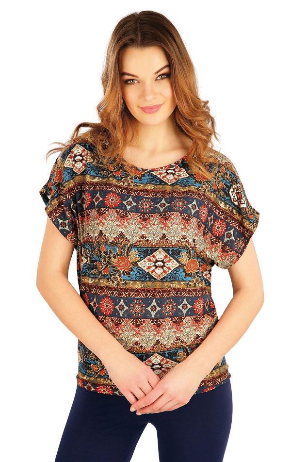 Tričko dámské s krátkým rukávem. 5A130 | Tílka, trička, halenky LITEX