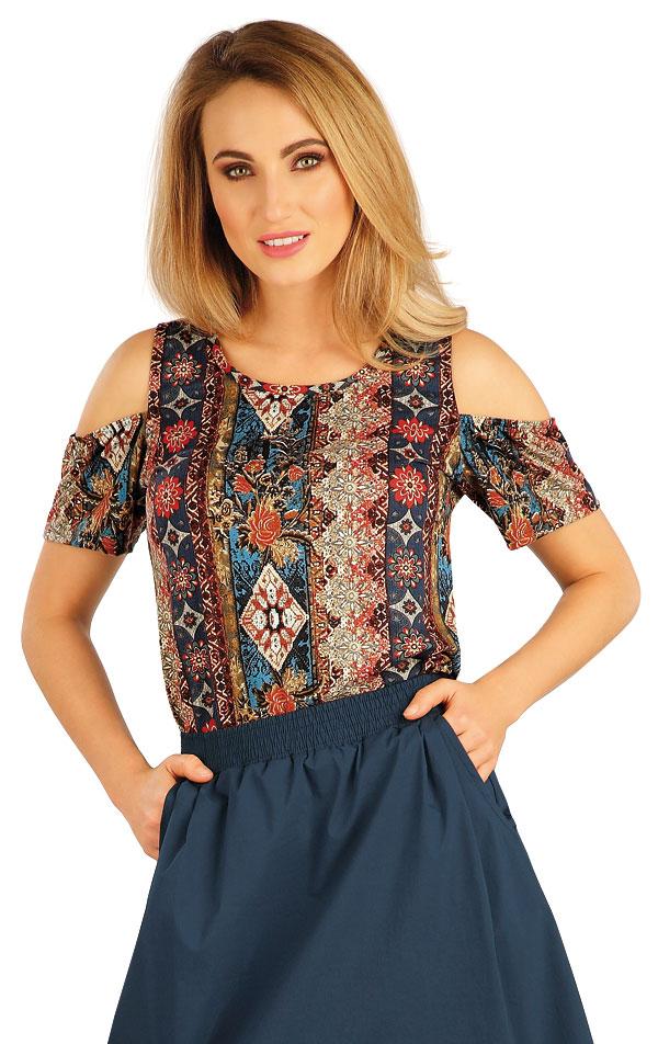Tričko dámské s krátkým rukávem. 5A131 | Tílka, trička, halenky LITEX