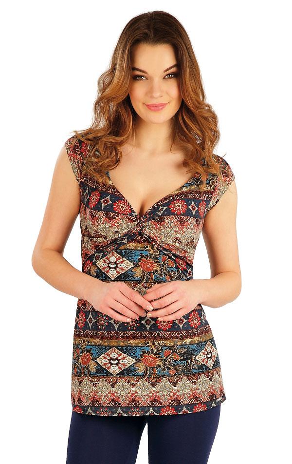 Tričko dámské s krátkým rukávem. 5A132 | Tílka, trička, halenky LITEX