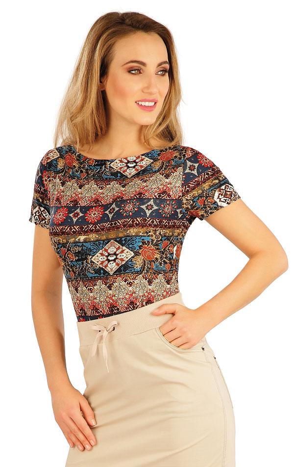 Tričko dámské s krátkým rukávem. 5A133 | Tílka, trička, halenky LITEX