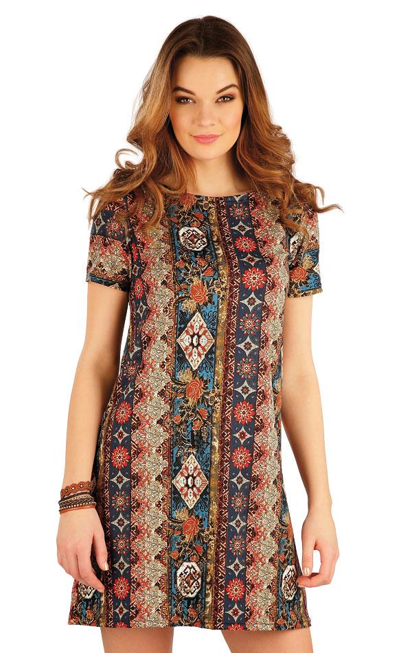 Šaty dámské s krátkým rukávem. 5A134 | Šaty, sukně, tuniky LITEX