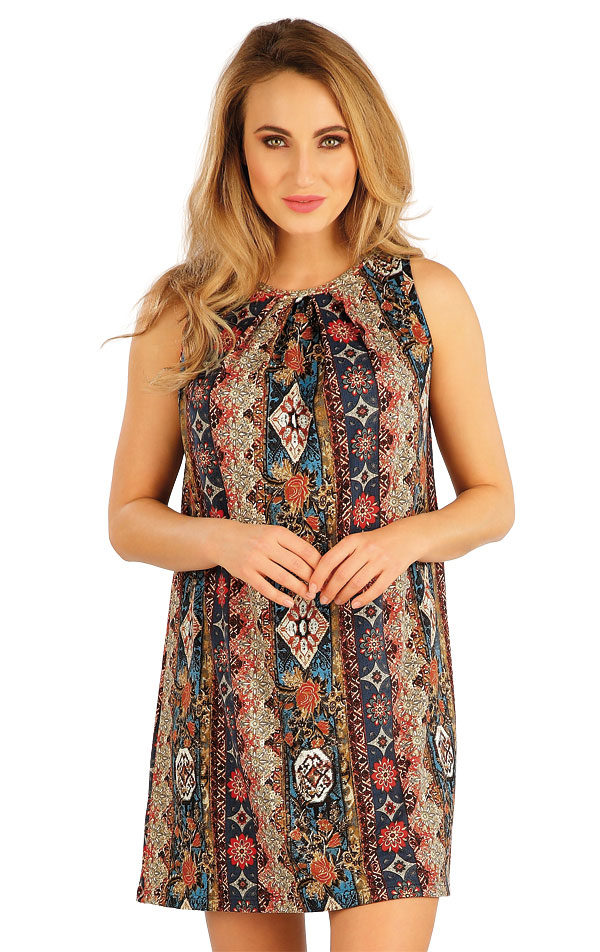 Šaty dámské bez rukávu. 5A135 | Šaty, sukně, tuniky LITEX