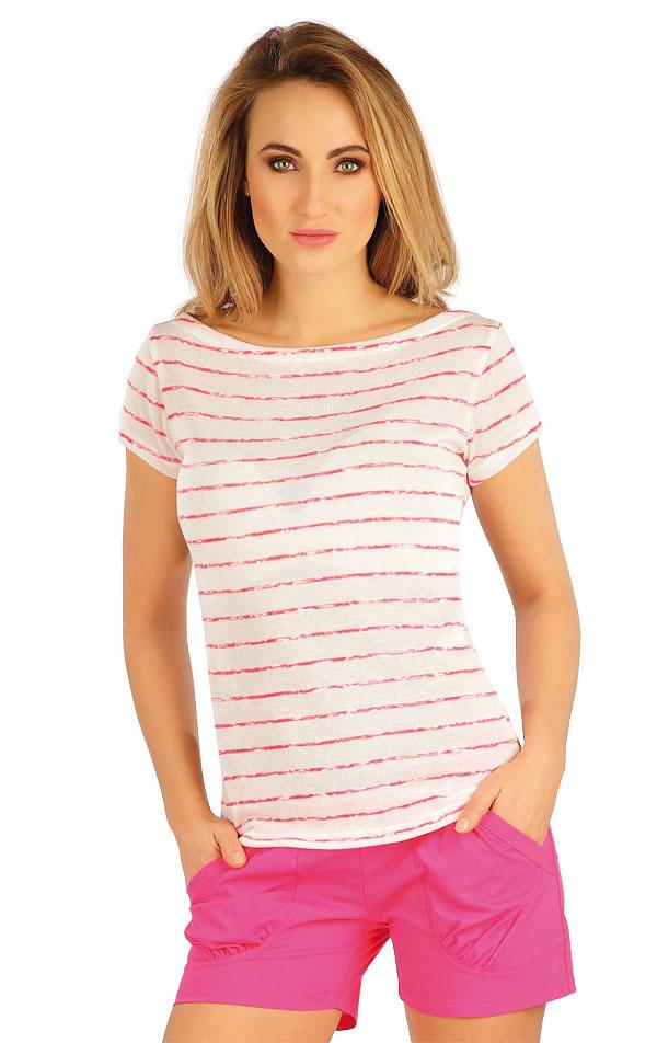 Tričko dámské s krátkým rukávem. 5A141   Tílka, trička, halenky LITEX