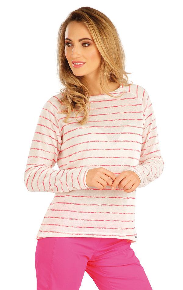 Tričko dámské s dlouhým rukávem. 5A143 | Tílka, trička, halenky LITEX