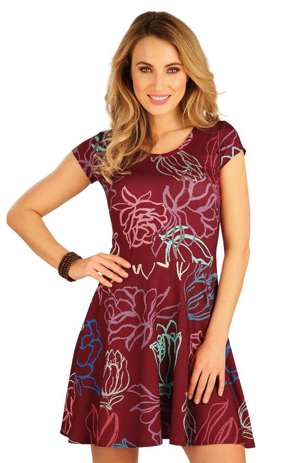 Šaty dámské s krátkým rukávem. 5A148 | Šaty, sukně, tuniky LITEX