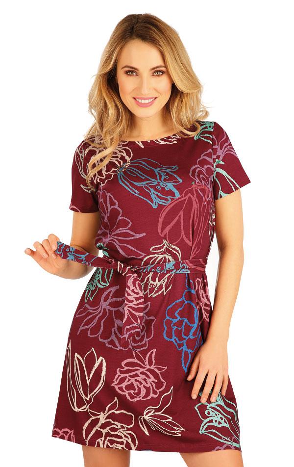 Šaty dámské s krátkým rukávem. 5A149 | Šaty, sukně, tuniky LITEX