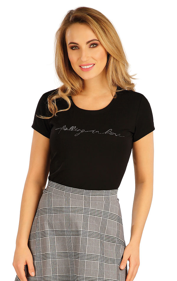Tričko dámské s krátkým rukávem. 5A157 | Tílka, trička, halenky LITEX