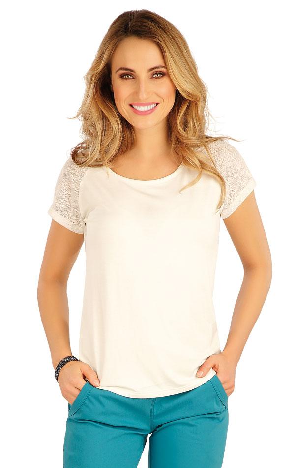 Tričko dámské s krátkým rukávem. 5A163 | Tílka, trička, halenky LITEX