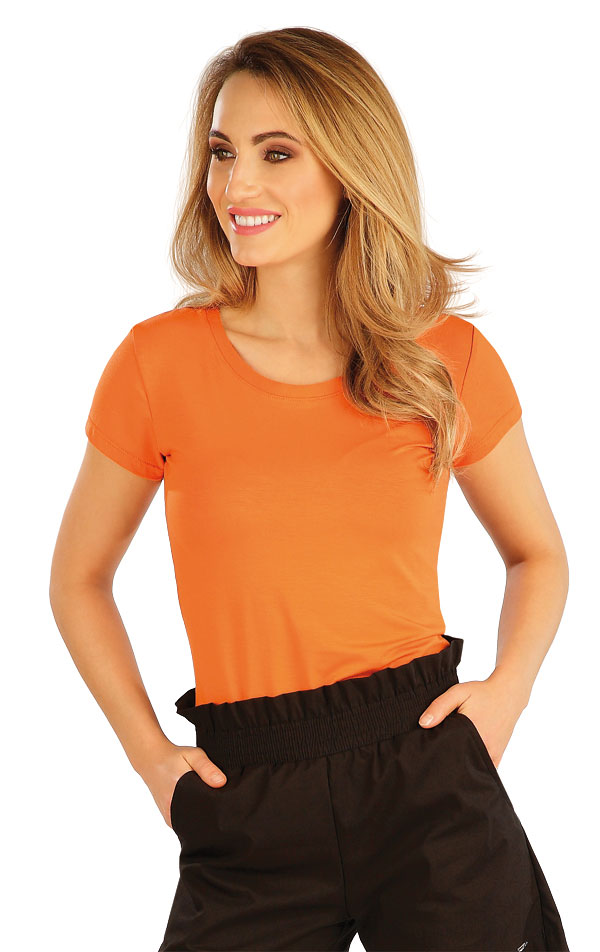 Tričko dámské s krátkým rukávem. 5A167 | Tílka, trička, halenky LITEX