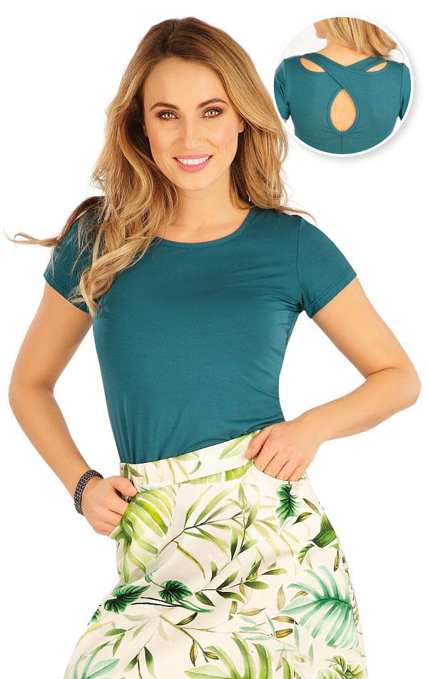 Tričko dámské s krátkým rukávem. 5A171 | Tílka, trička, halenky LITEX